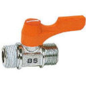 ASOH エースボール 外X外ネジ型 PT3/8XPF3/8 BS-1033 (108-7100) 《ボールバルブ》