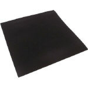【代引不可】 イノアック ポロンシート作業台安全マット 黒 5×500MM×15M巻 L24TS-5500-15M (455-9983) 《ゴム素材》 【メーカー直送品】