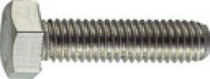 TRUSCO 六角ボルトステンレス全ネジ サイズM4X10 65本入 B23-0410 (160-0257) 《六角ボルト》