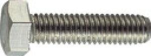 TRUSCO 六角ボルトステンレス全ネジ サイズM10X20 8本入 B23-1020 (160-0991) 《六角ボルト》