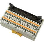 東洋技研 スプリングロック式コネクタ端子台 PCX-1H40 (479-8155) 《端子台》