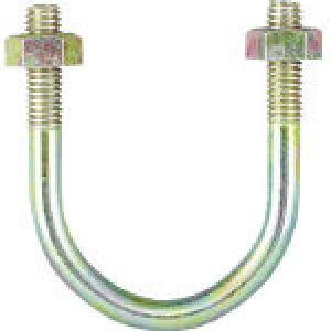 TRUSCO PC管用Uボルト クロメート 呼び径100A ねじ径W3/8 TPCU-BT100A (285-9513) 《配管支持金具》