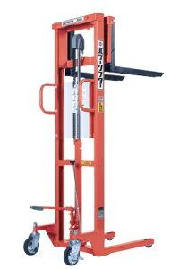【直送品】 をくだ屋技研 (OPK) 手動式パワーリフター (エコノミータイプ) PL-H350-15S オレンジ色