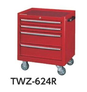 【直送品】 山金工業 ツールケースワゴン TWZ-624R 【法人向け、個人宅配送不可】 【大型】