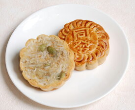 椰絲小月餅−ココナッツ小月餅−【横浜中華街・中華菜館 同發】