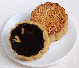 荳沙大月餅−クルミ入り黒あん大月餅−【横浜中華街・中華菜館 同發】