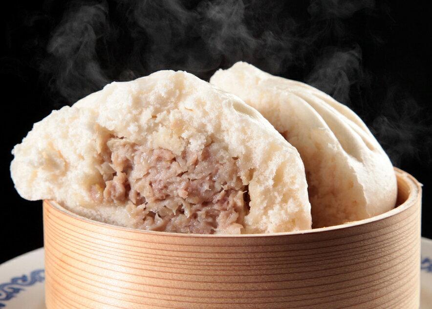 豚肉包-にくまん-(2個入)     【横浜中華街・中華菜館 同發】