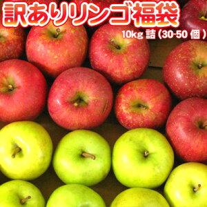 りんご 訳あり 福袋 10kg 送料無料 リンゴ 北海道 青森 リンゴ ※沖縄は送料別途加算