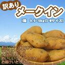 【新じゃが】メークイン 訳あり メークイン 北海道 じゃがいも S-Mサイズ9.5-10kg前後 送料無料 メークイン