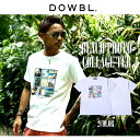 DOWBL/ダブル/Beach Photo Collage Tee【全1色】