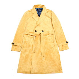 DOWBL/ ダブル/ Suede Color Gold Point Coat 【全2色】