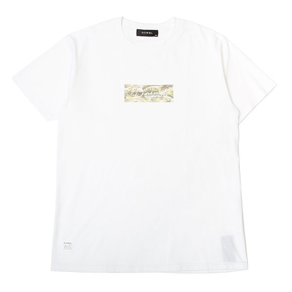 DOWBL/ ダブル/ Small Leaf Box Logo Tee 【全3色】
