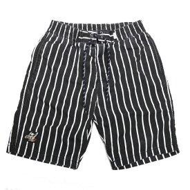 DOWBL/ ダブル/ Kiss Icon Stripe Shorts 【全1色】