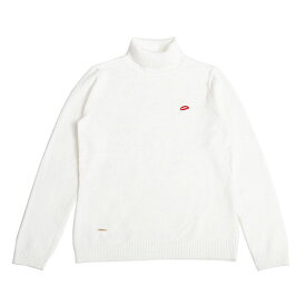 DOWBL/ ダブル/ Turtle Neck Lip Icon knitsew 【全1色】