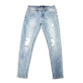 DOWBL/ ダブル/ Splash Damage Super Skinny Denim 【全1色】