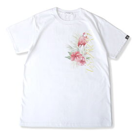 DOWBL/ ダブル/ Botanical Flamingo Tee 【全1色】