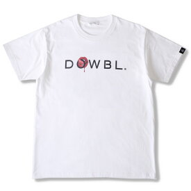 DOWBL/ ダブル/ KISS LOGO 2ND Short Sleeve 【全2色】