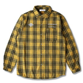 DOWBL/ ダブル/ Insane Rhombus Logo Check Shirt 【全2色】
