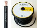 【定番の人気商品】【切り売り、端子圧着サービス有】JL AUDIOBPW60A4ゲージ電源ケーブル黒