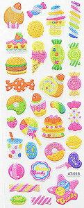 デコレーション シール ギフト 子供用 かわいい ケーキ キャンディー