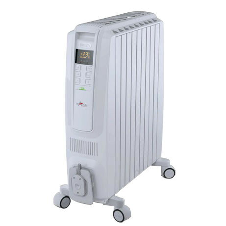 QSD0915-WH オイルヒーター DeLonghi デロンギ ドラゴンデジタルスマート QSD0915WH【KK9N0D18P】