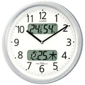 4FYA01-019 壁掛け時計 シチズン CITIZEN 電波時計 ネムリーナカレンダーM01 4FYA01019 シチズン時計 電波掛け時計 電波掛時計 壁掛時計 かけ時計 壁掛け電波時計 電波壁掛け時計