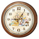 FW587B 壁掛時計 SEIKO セイコー ディズニータイム ミッキー&フレンズ 壁掛け時計 電波時計 電波掛け時計 電波掛時計…