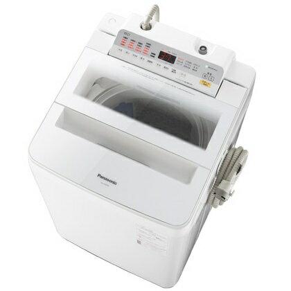 【時間指定不可】【離島配送不可】NA-FA80H6-W 全自動洗濯機 Panasonic パナソニック 洗濯・脱水容量8kg NAFA80H6W ホワイト