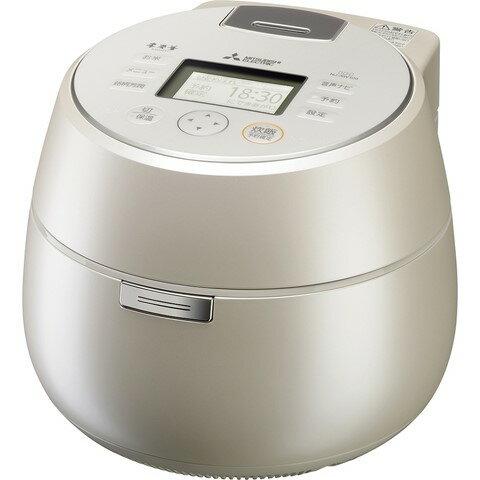 【5月22日入荷予定】NJ-AW109-W ジャー炊飯器 MITSUBISHI 三菱電機 本炭釜 KAMADO 5.5合炊き NJAW109W 白和三盆