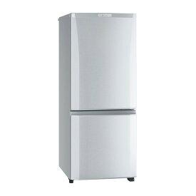 【時間指定不可】【離島配送不可】MR-P15E-S 冷蔵庫 MITSUBISHI 三菱電機 Pシリーズ 146L 2ドア MRP15ES シャイニーシルバー