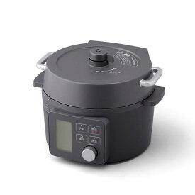 【北海道・沖縄・離島配送不可】KPC-MA2-B 電気圧力鍋 アイリスオーヤマ 2.2L KPCMA2B ブラック