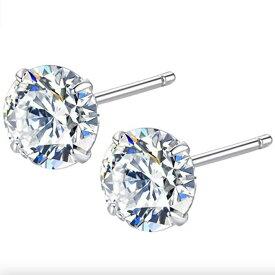 【bound】3mm ピアス バウンド2021年春モデル stud earrings s925 zircon ジュエリー シンプルピアス ジルコンピアス スタッドピアス シルバーアクセ シルバーピアス