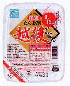株式会社バイオテックジャパンたんぱく質1/12.5越後ごはん(レトルト)たんぱく質が通常の12.5分の1おいしい低タンパクです!180g
