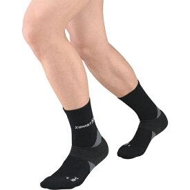 【メール便可200円】【ZAMST ザムスト】ソックスタイプサポーター 靴下 HA−1レギュラー(ブラック) Lサイズ AVT-375113 ブラック クリスマス プレゼント