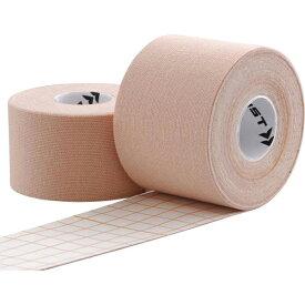 【メール便送料無料】【ZAMST ザムスト】キネシオロジーテープ KT(シュリンクタイプ) 50mm×5.0m AVT-378712 ベージュ