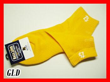 【送料無料(メール便発送)】【ボールラインBALLLINE】【ソックス靴下】バスケットショートソックスBLS-174BLS174