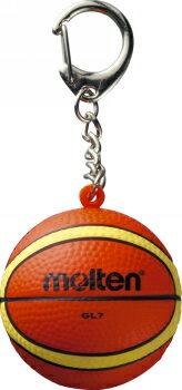 【卒業記念品】【メール便発送可200円】モルテン molten バスケットボール 記念品に 弾力のあるソフトな感触が気持ちいいキーホルダー KHB 卒団記念品