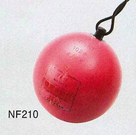 【送料無料】【NISHI ニシスポーツ】陸上競技 ハンマー (女子用) スチール 4.000kg NF210 [200406]