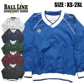 【ボールライン BALL LINE オンザコート】【ウェア】バスケット Vネックジャケット BLVJ1000 BLVJ-1000 [200423]