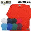 【メール便送料無料】【ボールライン BALL LINE オンザコート】【ウェア】バスケット ロングスリーブTシャツ 長袖…