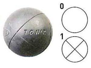【送料無料】【サンラッキー SUNLUCKY】【ペタンク】ニュースポーツ 国際連盟公認球3個セット SRP-64 SRP64