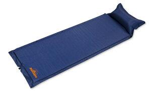 マクラ付き自動膨張マット 複数連結可能 エアークッション枕 車中泊や宿泊に最適