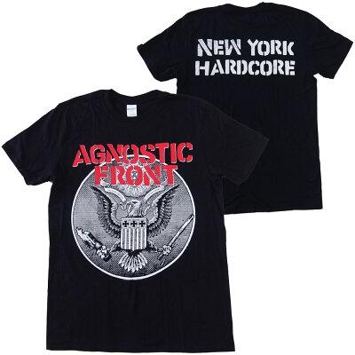 アグノスティックフロント・AGNOSTICFRONT・AGAINSTALLEAGLE・Tシャツ・バンドTシャツ