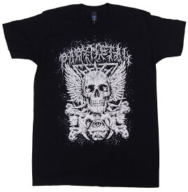 ベビーメタル・BABYMETAL・CROSSBONE EYE SKELETON Tシャツ アメリカ版 オフィシャル バンドTシャツ ロックTシャツ【RCP】【コンビニ受取対応商品】