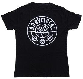 ベビーメタル・BABYMETAL・PENTAGRAM・Tシャツ・UK版 オフィシャル バンドTシャツ ロックTシャツ【RCP】【コンビニ受取対応商品】