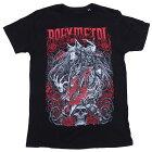 ベビーメタル・BABYMETAL・ROSEWOLF・Tシャツ・UK版・オフィシャルバンドTシャツ・ロックTシャツ