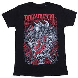 ベビーメタル・BABYMETAL・ROSEWOLF・Tシャツ・UK版 オフィシャル バンドTシャツ ロックTシャツ【RCP】【コンビニ受取対応商品】