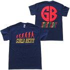 ゴリラビスケッツ・GORILLABISCUITS・STARTTODAY・ネイビー・Tシャツ・バンドTシャツ