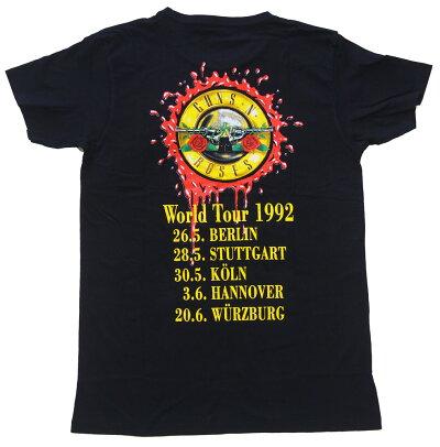 ガンズアンドロゼース・GUNSNROSES・USEYOURILLUSINWORLDTOUR1992・Tシャツ・ロックTシャツ