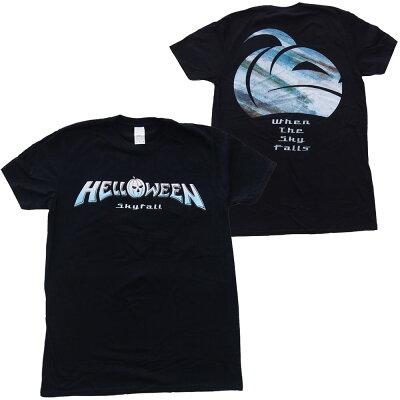 ハロウィン・HELLOWEEN・SKYFALLLOGO・Tシャツ・メタルTシャツ